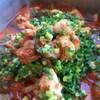 チキンとナスのジンジャートマト煮
