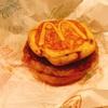 マクドナルド『チキンクリスプマフィン&チーズバーガー&マックグリドルソーセージ』130円&150マック(ハンバーガー)