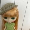 かぎ編みで帽子作り
