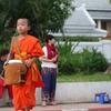 伝統と観光のバランスが面白いルアンパバーンの托鉢