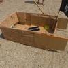 「段ボール船の製作」の準備1