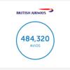 ブリティッシュ・エアウェイズ(BA)自分史上最大獲得 32万4千Avios!