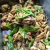 *鶏肉とモロッコいんげんのダッカルビ風