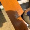 素人が庭の目隠しフェンスをDIYしたら意外と上手にできた~柱脚金物取り付け編