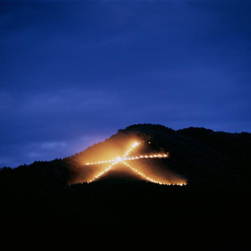 夏の夜空を焦がす祈りの火—京都 五山送り火—