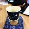 ★紙コップでお茶