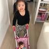 お散歩ごっこ(3歳1ヶ月)