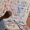 インタビュー05:日本画家・磯﨑菜那さん 生きものを愛する画家が描く、見る人を幸せにさせる絵の世界