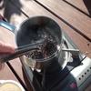 フライパンで自家焙煎