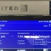 カンクンへの旅 - 空港にて ユナイテッド航空10-25K, ハイアット25K/一泊