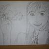 2018年5月21日頃に元「アイドリング!!!」の横山ルリカさんを描いてみた。