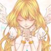 祈りを捧げる天使