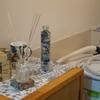 洗濯機置き場無いワンルーム 内見用装飾 モリスギャラリー
