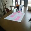 付箋を使って頭の中を整理、優先事項が見えてきたラベルマップコーチング