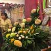 タイ王国の女子高生によるスイカアート