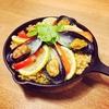 【男の料理】ムール貝が安く手に入ったのでパエリアとレモン酒蒸しを作った。