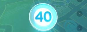 ポケモンGO無課金勢のままトレーナーレベル40のカンスト