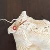 靴下を編む時は 5本短棒針か22㎝のミニ輪針か