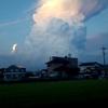 カナトコ雲!?