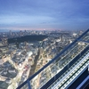 屋上展望台「SHIBUYA SKY」のエスカレーター
