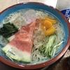 麺喰らう(その 336)ひやむぎ&三ツ矢サイダー