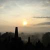 【女ひとりでジョグジャカルタ⑤】ボロブドゥール遺跡の日の出