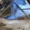 炭窯づくり。そこに現代アートを接続できるのか。