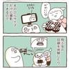 お部屋ドローンが楽しいぞい【4コマ漫画2本】