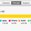 Macの容量を空ける!Get more space on the Mac storage!!