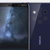 ペンタ(5つ)カメラを搭載するスマートフォン「Nokia 9」のレンダリング画像がリーク