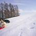 広大な雪原でのそり遊びは最高!!