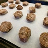 オートミールのアイスボックスクッキー(小麦粉・砂糖・卵不使用)
