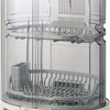 狭いキッチンにおすすめ 象印 食器乾燥機 縦型 80cmロング排水ホースつき EY-KB50-HA