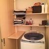 洗面所の棚に棚板を増やしてみた