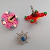 レゴ(LEGO)のコマはクルクル回る!レゴ独楽の作り方の紹介です