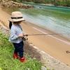 子連れ釣師。キス釣り編