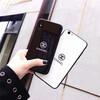 強化ガラス素材のシャネル風iPhoneスマホケースはおしゃれで衝撃!