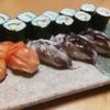 握り練習―赤貝とトリ貝―