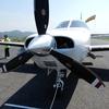 八尾→笠岡 小型飛行機フライトの旅(大阪ー兵庫ー岡山)