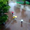 ソール・ライター風×ミニチュア風写真at『雨の東京都美術館』