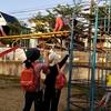 降園後の集まりと公園遊び