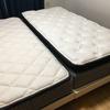 【同棲生活】シングルベッド2台の寝室事情