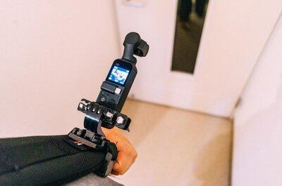 GoProマウントでカメラをバックパックに取り付けてみた。ハンズフリーって便利。