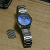 就活で使ったカシオの安いカレンダー付き時計のベルトを短くする方法