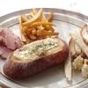 フランスパンっぽいパン4〜チーズフォンデュ風〜