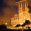 バルセロナ街歩きの旅(13) -旅の最後はライトアップされたサグラダ・ファミリア-