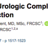 人工関節周囲感染における尿路合併症の影響 JBJS abstractの和訳