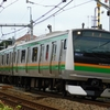 E233系電車5両の回送列車