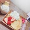 エッグスンシングス⁈みたいなパンケーキ