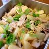 豚肉と大根、エリンギのエスニック煮